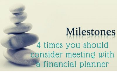 4 times you should consider meeting with a financial planner